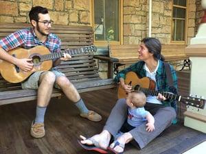 playing-guitar-during-advising