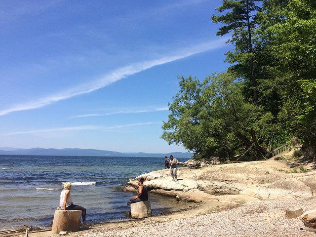 Campus Lake shore