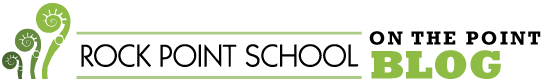 Rock Point School blog logo