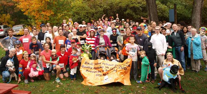 Ooky Spooky Run group