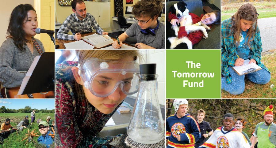 The Tomorrow Fund at Rock Point School - montage of student scenes and activities